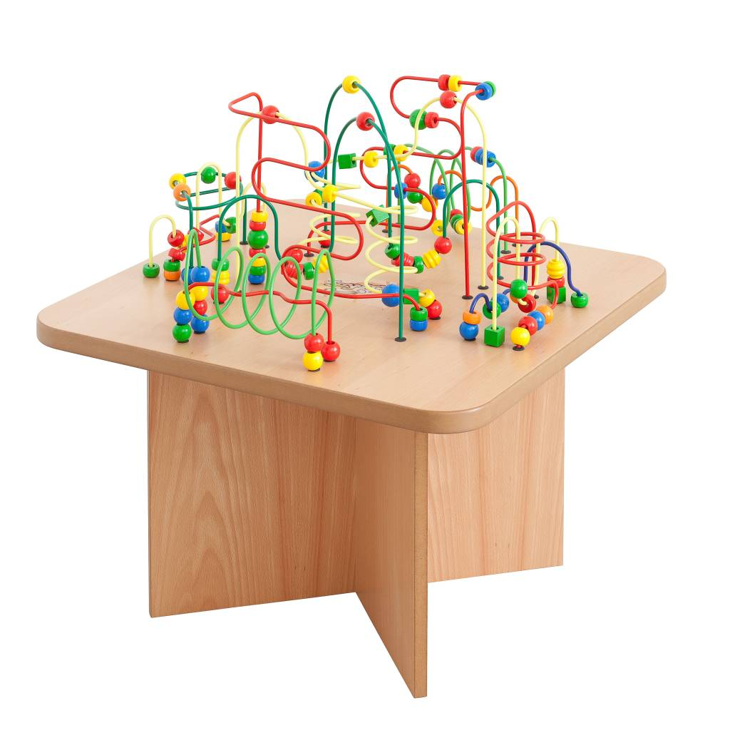 Bead maze table - KinderSpell