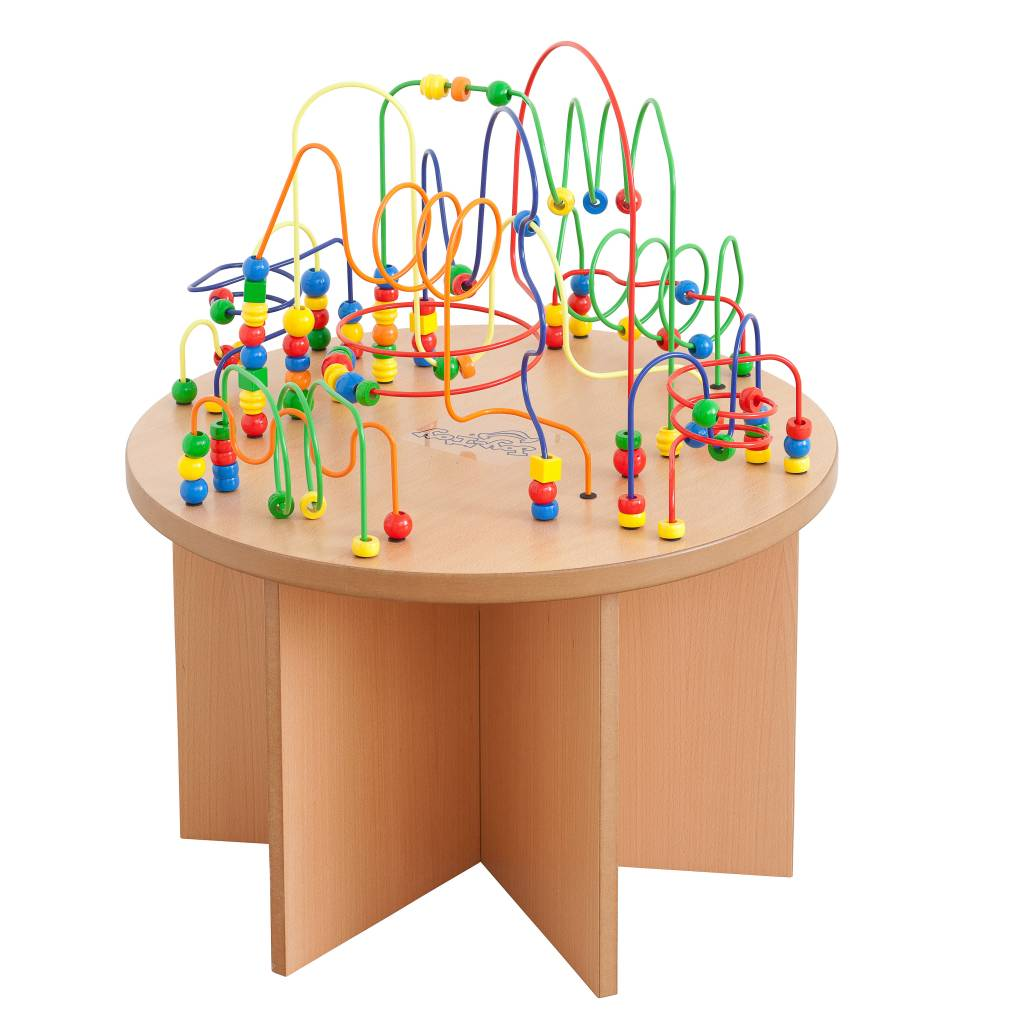 activity tables bead activity table kinderspell ® bead activity  - bead activity table kinderspell ®