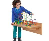 jeux muraux en bois pour creche salle d 39 attente et coin. Black Bedroom Furniture Sets. Home Design Ideas