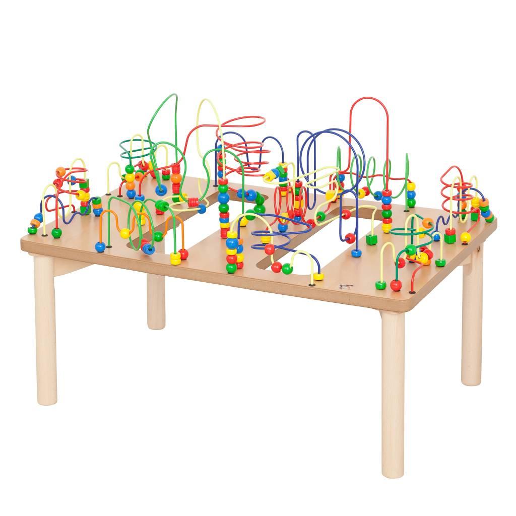 Table d 39 activit boulier jeu d 39 enfant for Table de jeux