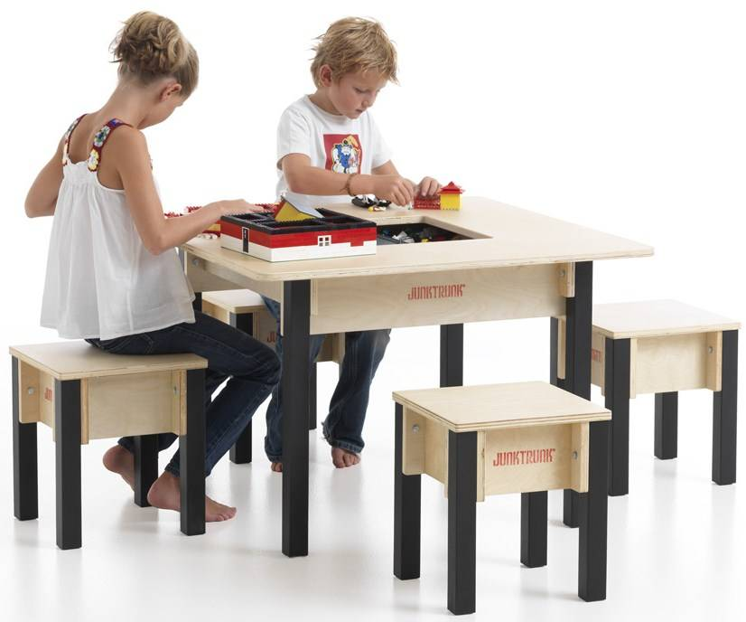 Kids Play Table With Storage Kinderspell