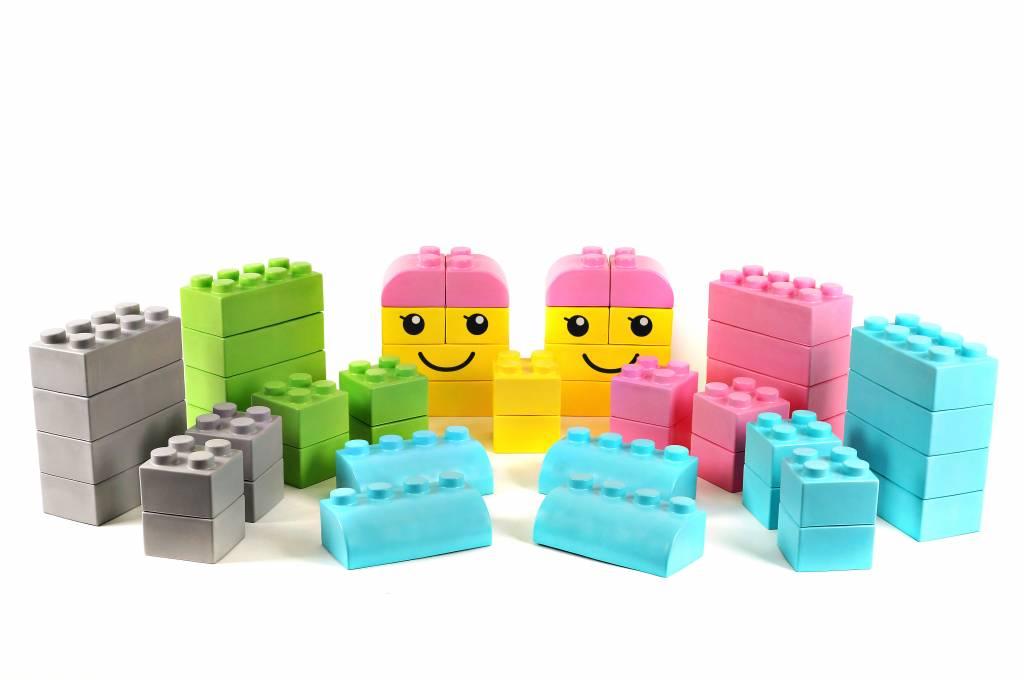 Kids giant building blocks - KinderSpell ®