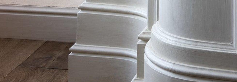 Kunststof plinten - waterbestendig en schokbestendig - ook geschikt voor badkamers!