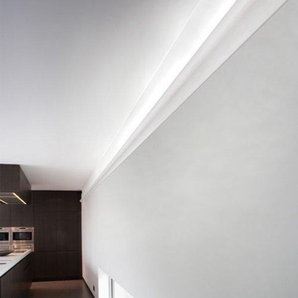 kroonlijst voor indirect verlichting c364 wave orac decor. Black Bedroom Furniture Sets. Home Design Ideas