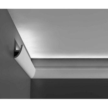 orac decor luxxus collectie c373 antonio kroonlijst wandlijst plint voor indirecte verlichting