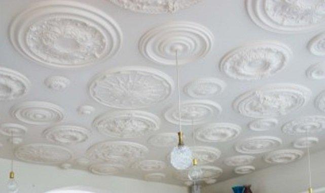 Grote collecte plafond rozetten