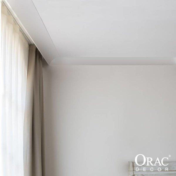 c991 kroonlijst voor led verlichting gordijnprofiel sierlijsten en ornamenten specialist. Black Bedroom Furniture Sets. Home Design Ideas