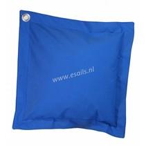 Kussen van Sunbrella+ doek. Pacif.Blue 65x65 cm.