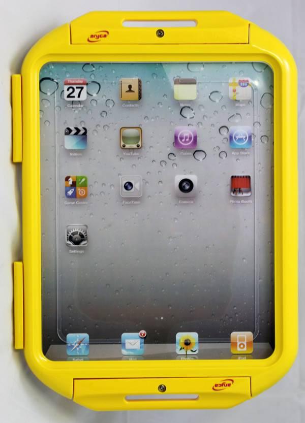 Luxe waterdichte beschermhoes voor de iPad. Geel.