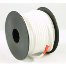 Polyester touw 3mm op spoel. Wit.