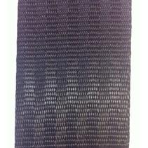 Veiligheidsgordelband / autogordelband Zwart 25 mm