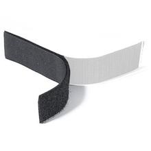 Klittenband Zwart Lus (Zacht)