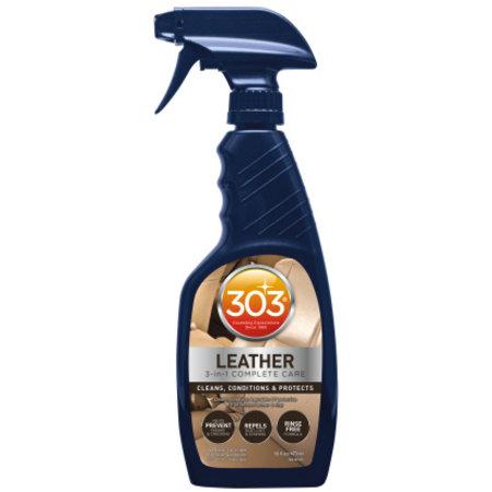 303 Products Leather 3in1 473 ml Reinigt, onderhoudt & beschermt