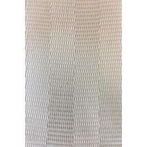 Veiligheidsgordelband / autogordelband Wit 50 mm