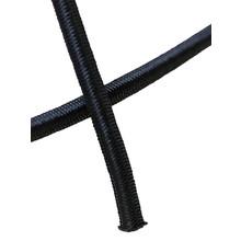 Shockcord zwart 8 mm