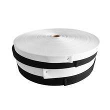 Nylonband 1366   Zwart 40 mm. Per rol 100 meter