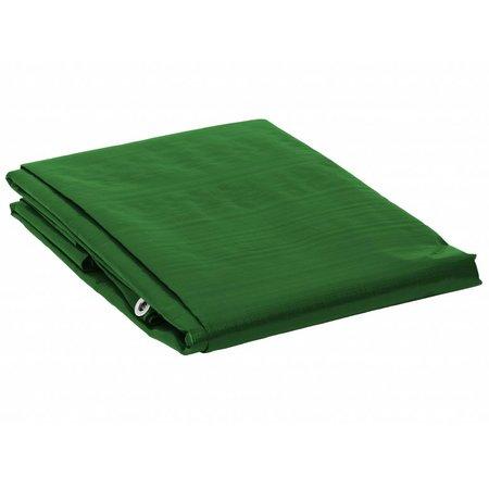 Dekzeil Super Premium 250 gr/m2. UV bestendig. 12 x 15 m Groen