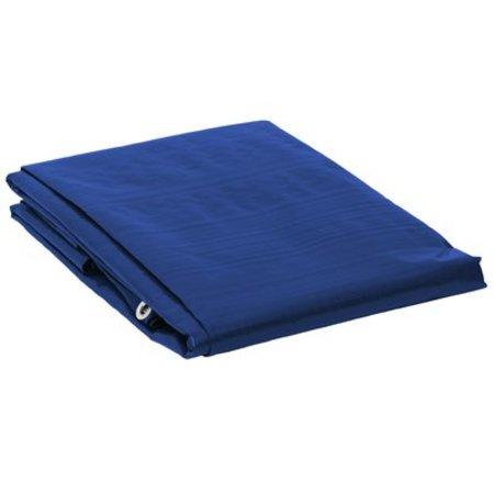 Dekzeil Super Premium 250 gr/m2. UV bestendig. 6 x 10 m Blauw