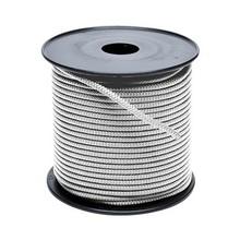 Touw polyester wit 6 mm haspel 300m