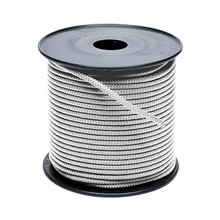 Touw polyester wit 10 mm haspel 200m