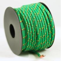 Polyester touw 3mm op spoel. Groen Multicolor
