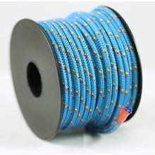 Polyester touw 3mm op spoel. Blauw Multicolor
