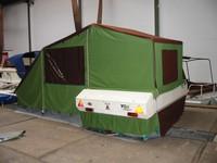 Zeilen en maatwerk oplossingen voor caravans, campers, vouwwagens. Luifels, zonnezeilen, hoezen.