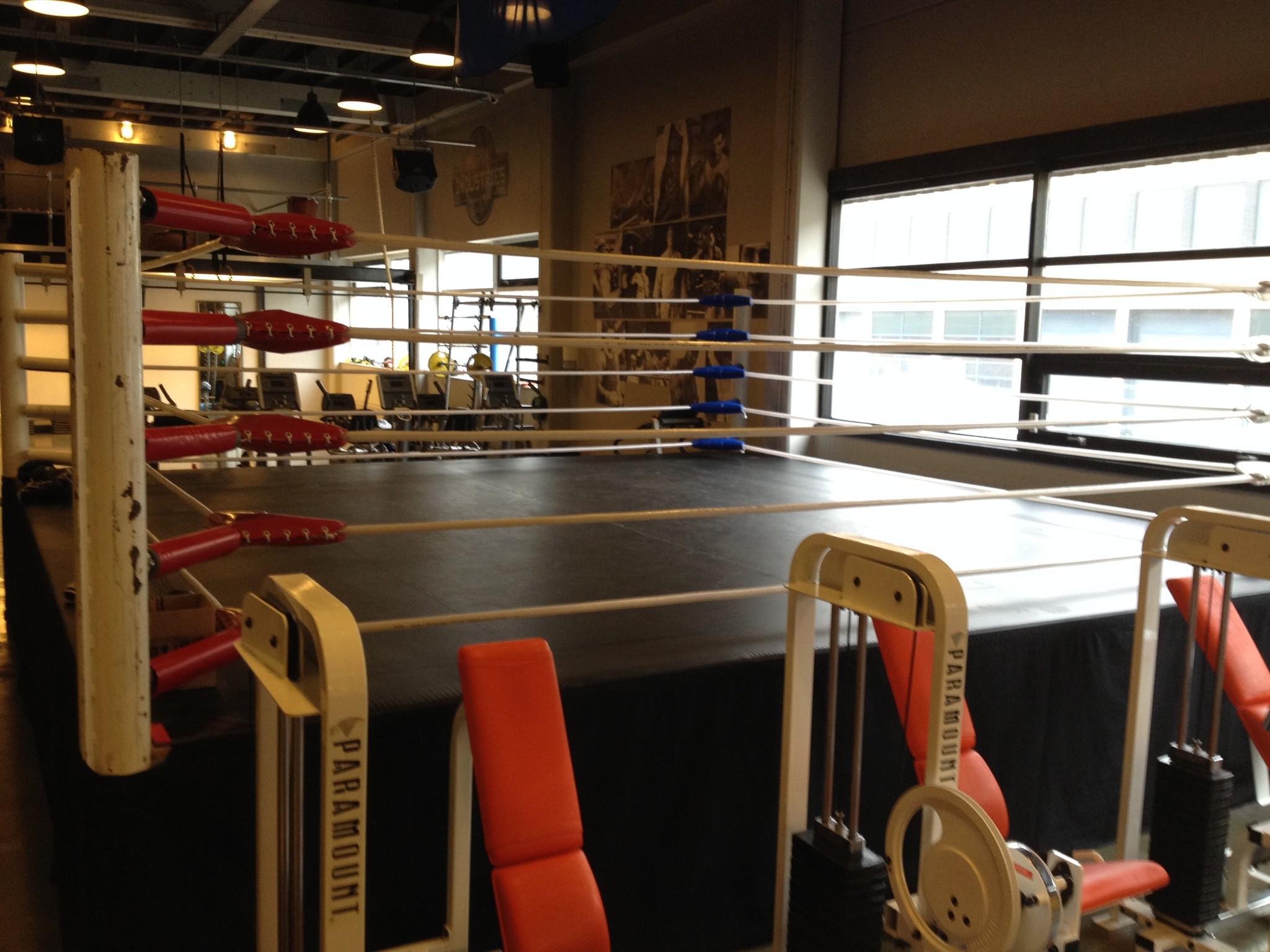 Boxring Gym Industries Haarlem