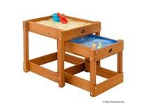 Plum SANDY BAY houten zandbak en watertafel