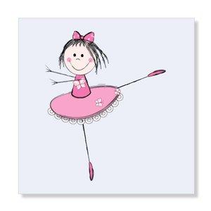 Ballerina Blauw