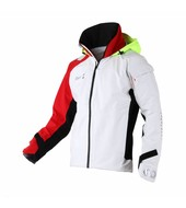 Slam WIN-D Racing Jacket - White/Red (E15)