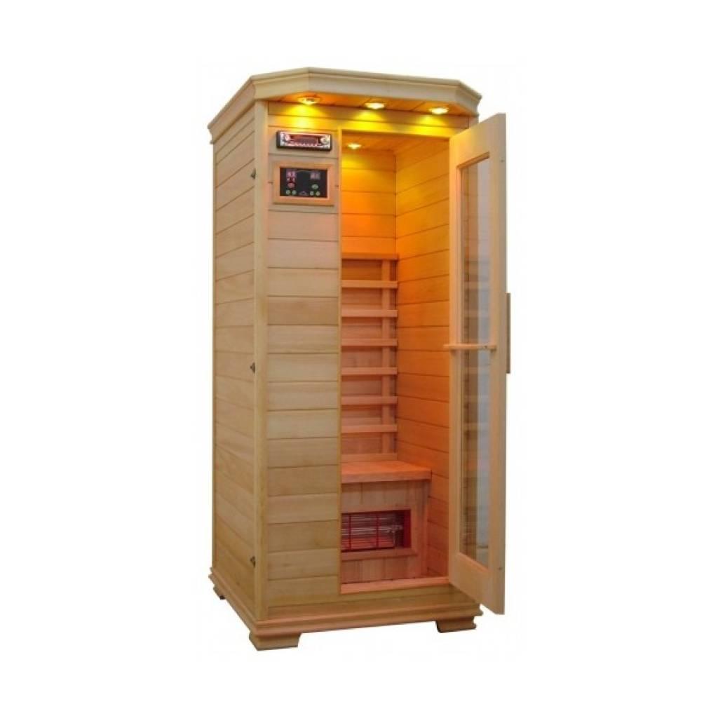 SaunaQueen infrarood sauna 1-persoons - Floravital.nl