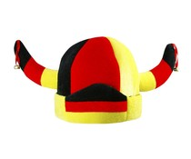 hoed wit geel rood