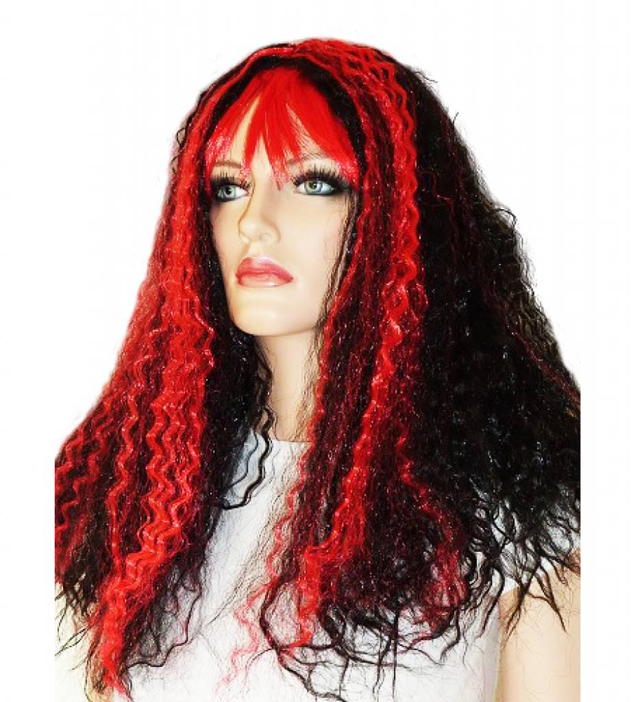 reddit zwart rood haar