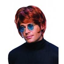 Pruik Elton John
