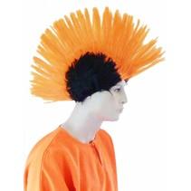 Pruik Hanekam Oranje Holland