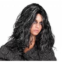 Halloween pruik Angry Louette