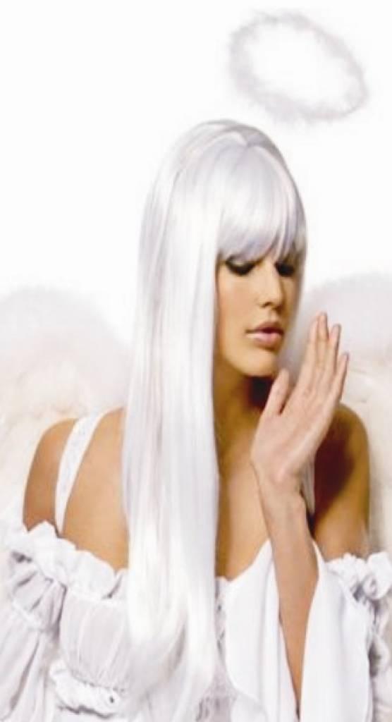 lang haar wit rondborstige