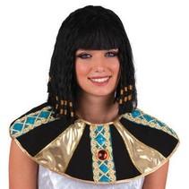 Pruik Cleopatra met vlechtjes