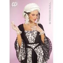 Pruik Koloniaalse dame