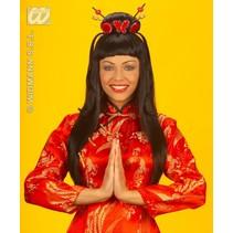 Pruik China girl