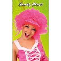 Pruik Candy crush