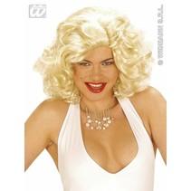 Pruik Marilyn