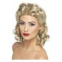 40's Sweetheart pruik blond