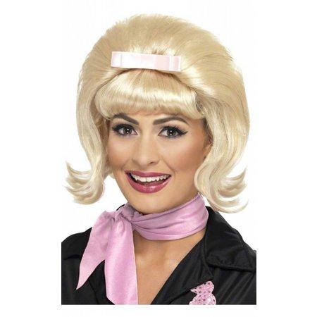 50's pruik blond Antje