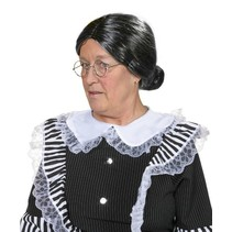 Pruik oude dame
