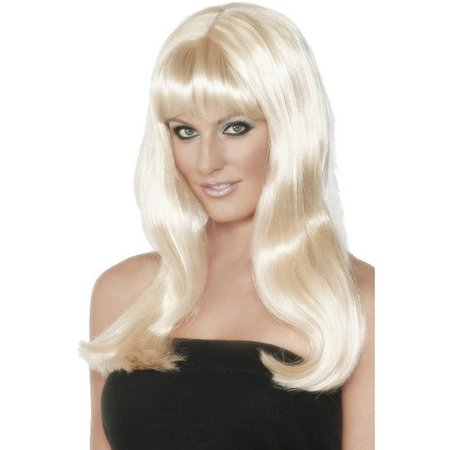 Beach Babe pruik blond