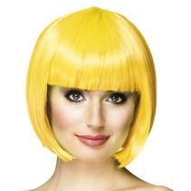 Pruik bobline new look geel