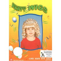 Pruik Princes Junior met kroontje