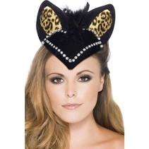 Burlesque Kattenhoedje vrouw